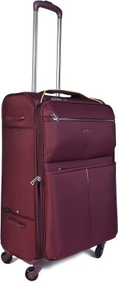 EUROLARK INTERNATIONAL Wallet Expandable Check-in Luggage - 25 inch(Maroon)