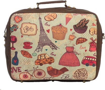 Bandbox Paris Suitcase Travel Bag Cabin Luggage - 120 inch(Multicolor)