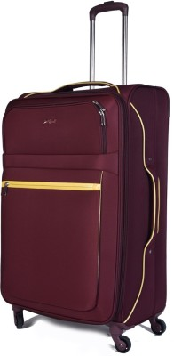 EUROLARK INTERNATIONAL Channel Expandable Check-in Luggage - 29 inch(Maroon)
