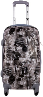 Novelty grey printed 28 inches Check-in Luggage - 28