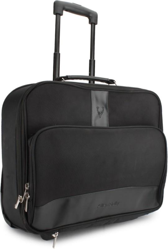 Allen Solly Cabin Luggage - 13.8 inch(Black)