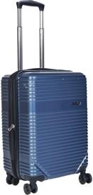 EUROLARK INTERNATIONAL Adventura Expandable Cabin Luggage - 21 inch(Blue)