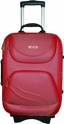 Grevia Bags 8100_22_Maroon Expandable  Cabin Luggage - 22