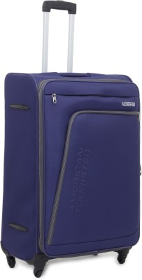 American Tourister Glider Expandable  Cabin Luggage - 21.7
