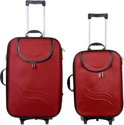 Sk Bags Hkg Ranger 20+24 Trolly Set Check-in Luggage - 24