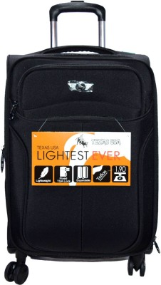 Texas USA Exclusivebag9nj Expandable  Cabin Luggage - 20