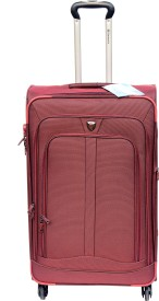 Sinomate Santro Expandable Check-in Luggage - 24 inch(Red)
