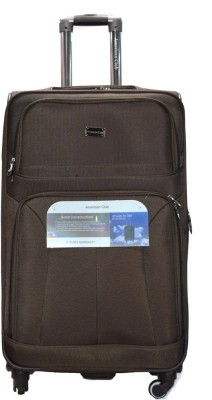 American Club ExclusiveTrolleyBag10JL Expandable  Check-in Luggage - 28