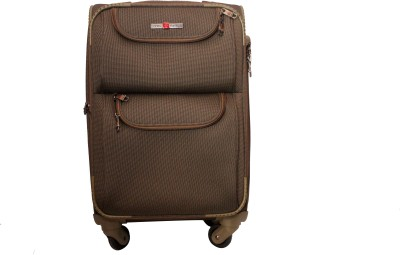 Swiss Traveller Brown03 Cabin Luggage - 28