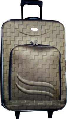 Shine Basics Browny 24Inches Concealed Handle Check-in Luggage - 24