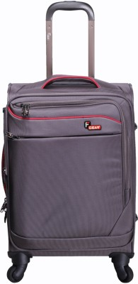 F Gear Dollar Grey Strolley Suitcase 20 Inch Cabin Luggage - 20