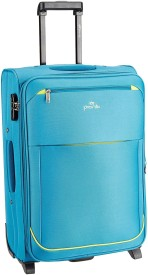 Pronto Moscow Expandable Check-in Luggage - 24 inch(Blue)