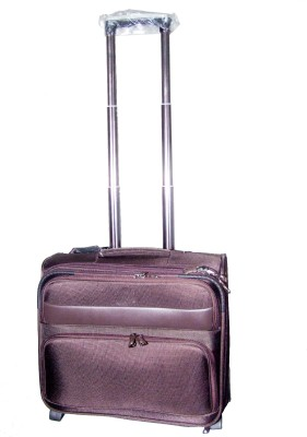 Armaan Leather TR7007 Expandable  Cabin Luggage - 22