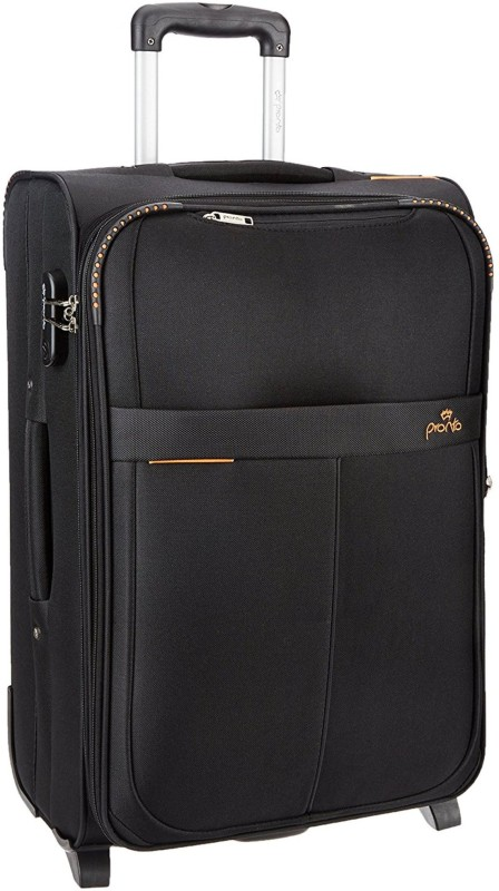 Pronto Oxford Expandable Check-in Luggage - 27 inch(Black)