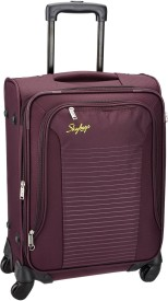 Skybags buzz Expandable Cabin Luggage - 22 inch(Purple)