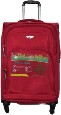 Texas USA 1209 Expandable  Check-in Luggage - 24