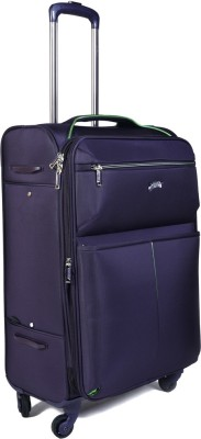 EUROLARK INTERNATIONAL Wallet Expandable Check-in Luggage - 25 inch(purple)