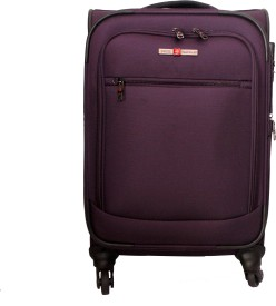Swiss Traveller Purple 08 Cabin Luggage - 24