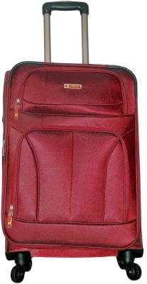 Grevia Bags 7104_Maroon Expandable  Check-in Luggage - 24
