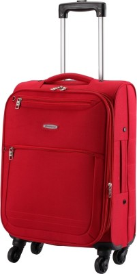Aristocrat Basil 4w Str Red Vip Expandable  Check-in Luggage - 24