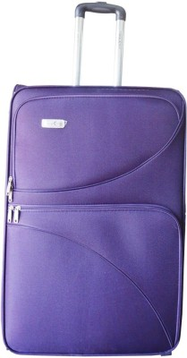 Take Off CEILNE 2WHL 65 PURPLE Expandable  Check-in Luggage - 25.5