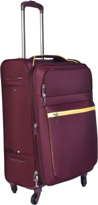 EUROLARK INTERNATIONAL Channel Expandable Check-in Luggage - 25 inch(Maroon)
