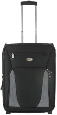 Timus Morocco Upright Expandable Cabin Luggage - 21 inch(Black)