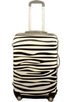 Redberry white black 20 inches Cabin Luggage - 20 inch(White)