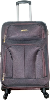 Grevia Bags 7104_Brown Expandable  Check-in Luggage - 24