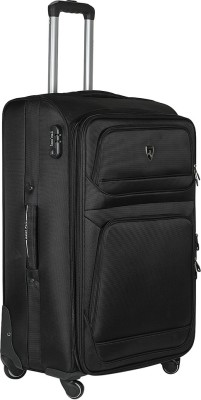 Asian Polo AP24BLA Expandable  Check-in Luggage - 24