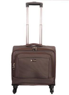 Sprint Laptop Strolley Bag Cabin Luggage - 15 inch(Coffee)
