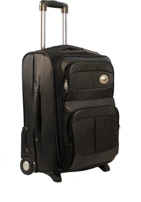 Legion Leatherite Trolley Expandable  Cabin Luggage - 20