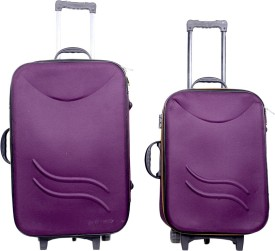 Sk Bags Hkg klick 20+24 storly set Expandable  Check-in Luggage - 24