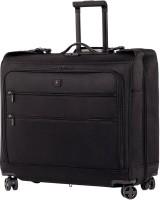 Victorinox Lexicon Dual-Caster 8-Wheel Garment Storage Case Check-in Luggage - 22.5 inch(Black)