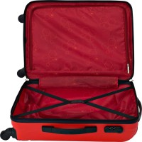 Safari Vivid Exclusive 4wh Expandable  Cabin Luggage - 25 inch(Red)