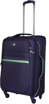 EUROLARK INTERNATIONAL Channel Expandable Check-in Luggage - 25 inch(purple)