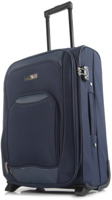 Alfa Avenger 2wh 55 Blue Expandable  Cabin Luggage - 20