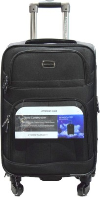 American Club ExclusiveTrolleyBag8HO Expandable  Check-in Luggage - 24