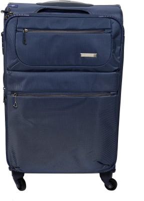 Princeware Elite Nylon 65 cm Softsided Expandable  Check-in Luggage - 25.6