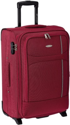 Princeware Milano Polyester 65 cm Expandable  Check-in Luggage - 25.6