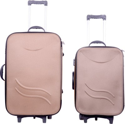 Sk Bags Hkg Klick 20+24 trolly set Expandable  Check-in Luggage - 24