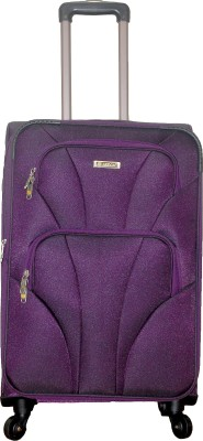 Grevia Bags 7103_Purple Expandable  Check-in Luggage - 24