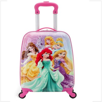 Kiddale Colorful Kids Trolley Travel Suitcase or School Bag 18 inch Cabin Luggage - 18