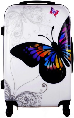 Novelty Butterfly Trolly Check-in Luggage - 28