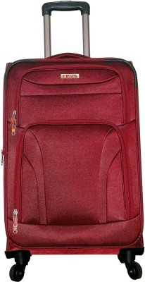 Grevia Bags 7102_Maroon Expandable  Check-in Luggage - 24