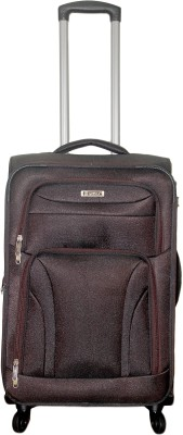 Grevia Bags 7102_Brown Expandable  Check-in Luggage - 24