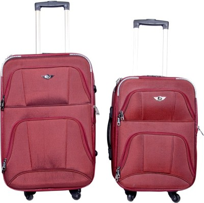 Sk Bags OLFA 20+24 Inch SET STROLLY BAG MR Expandable  Check-in Luggage - 25