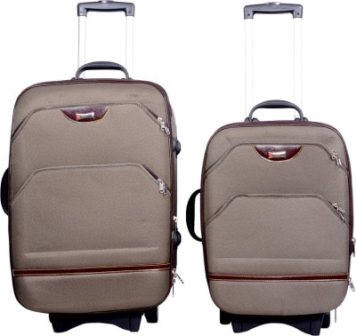 Sk Bags Magium 20+24 Strooly Set Expandable  Cabin Luggage - 24