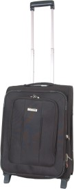 Grevia Bags 6004_20_Black Expandable  Check-in Luggage - 20
