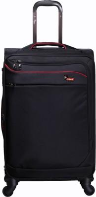 F Gear Dollar Black Strolley Suitcase 20 Inch Cabin Luggage - 20